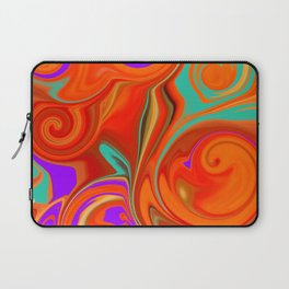 vortices in color Laptop Sleeve