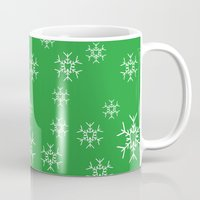 dentist Mugs featuring Winter Wonder for the Dentist by Hold The Cheese