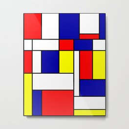 Mondrian #38 Metal Print