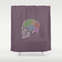 Shadow In The Rose Garden Shower Curtain