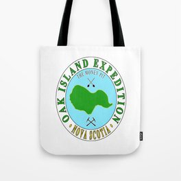 Oak Island Money Pit Expedition Tote Bag