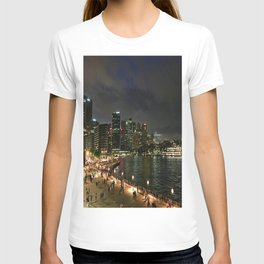 Circular Quay At Night T-shirt