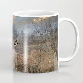 Sunset Geese Landscape Coffee Mug