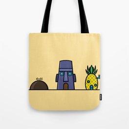 Spongebob's House Tote Bag