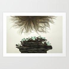 Spells & Pewter Art Print