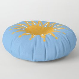 Aesthetic African Sunshine: Nikita Abuya Floor Pillow
