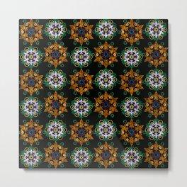 Oriental pattern . Metal Print