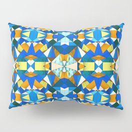 Kaleido Stained Glass Pillow Sham