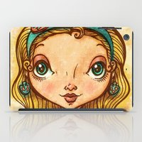 """artsy iPad Cases featuring """"Artsy Aura"""" by Alicia Templin"""