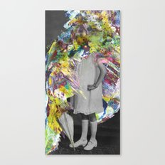 A Glitzy Girl Canvas Print
