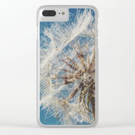 Fluff Clear iPhone Case