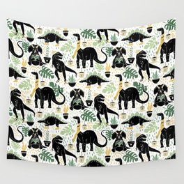 Hipster Dinos Wall Tapestry