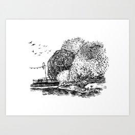 Bird Sanctuary in Oakland Art Print