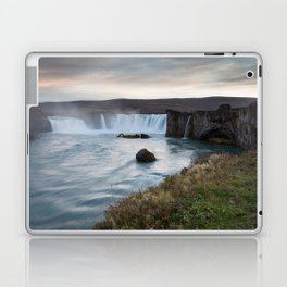 Godafoss Waterfall Iceland Laptop & iPad Skin