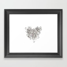 Unmapped 9 Framed Art Print