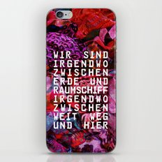 GLÜCK & BENZIN iPhone & iPod Skin