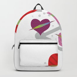 Share love #society6 #decor #buyart #artprint Backpack