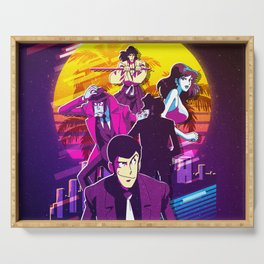 RETRO LUPIN THE THIRD Serving Tray
