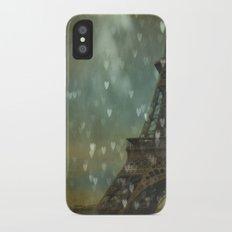 I Left My Heart in Paris iPhone X Slim Case