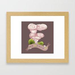 E for Effie Trinket Framed Art Print