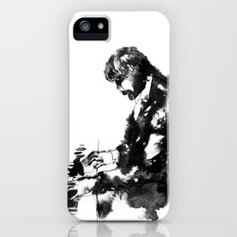 Jazz Piano Player iPhone Case