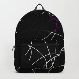 Abstract Threads – Demisexual Pride Flag Backpack