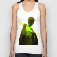neon Tank Tops featuring Neon by Mike Fernandez