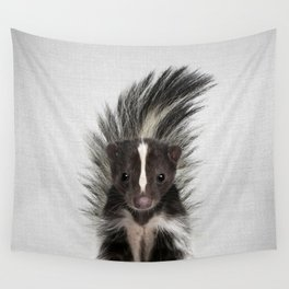 Skunk - Colorful Wall Tapestry