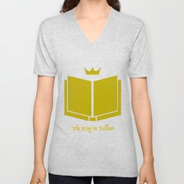 The King in Yellow Unisex V-Neck