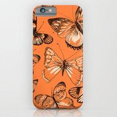 Coral butterflies Slim Case iPhone 6s