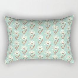 Silvestre flower field Rectangular Pillow