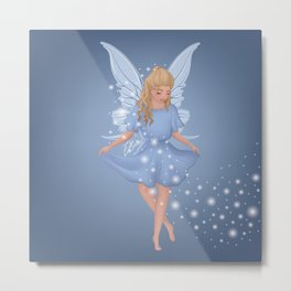 Faye the Fairy Metal Print