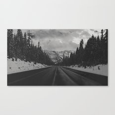 December Road Trip in the Pacific Northwest Canvas Print