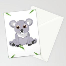 Cute Little Koala Bear Stationery Cards