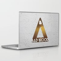 bastille Laptop & iPad Skins featuring Bastille #1 Bad Blood by Thafrayer