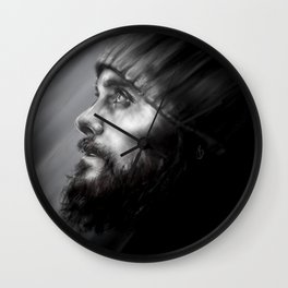 Jared Leto | Monolith Tour Digital Portrait Wall Clock