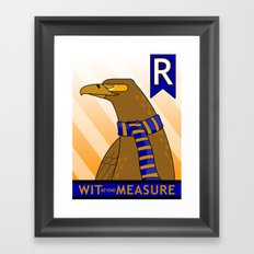 Ravenclaw Eagle (book version) Framed Art Print