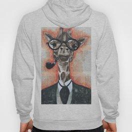 giraffe gentleman Hoody