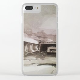 Shadow Play Clear iPhone Case