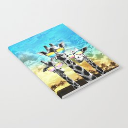Crazy Cool Giraffe Notebook