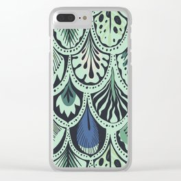 Feathers II Clear iPhone Case