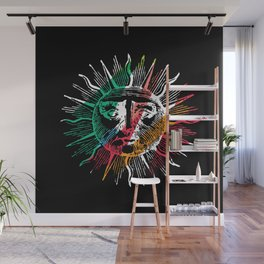 Yoga flow, Here comes the sun Wall Mural