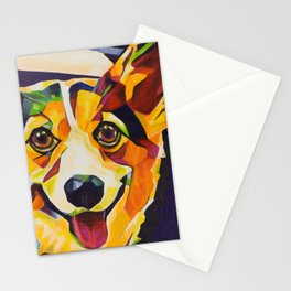 Pop Art Corgi Stationery Cards