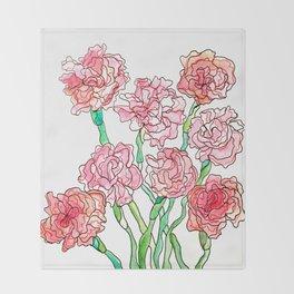 Carnations Decke