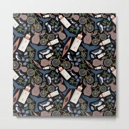 Acadia Pattern 2 Metal Print