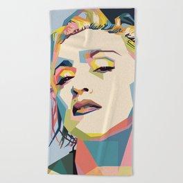 Madonna Beach Towel