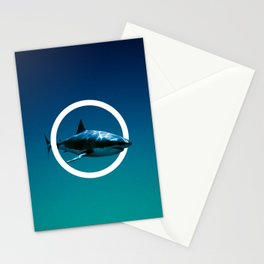 Shark. Stationery Cards