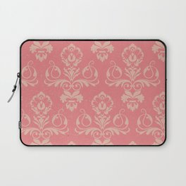 Dusty Rose Vintage Damask Laptop Sleeve