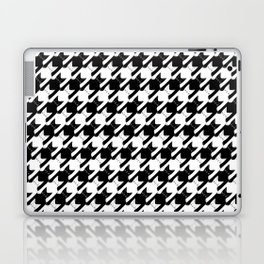 cats-tooth in black and white (houndstooth pattern) Laptop & iPad Skin