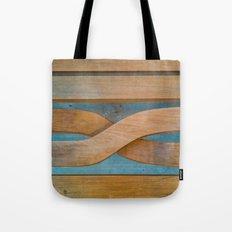 Cross the Wood Tote Bag